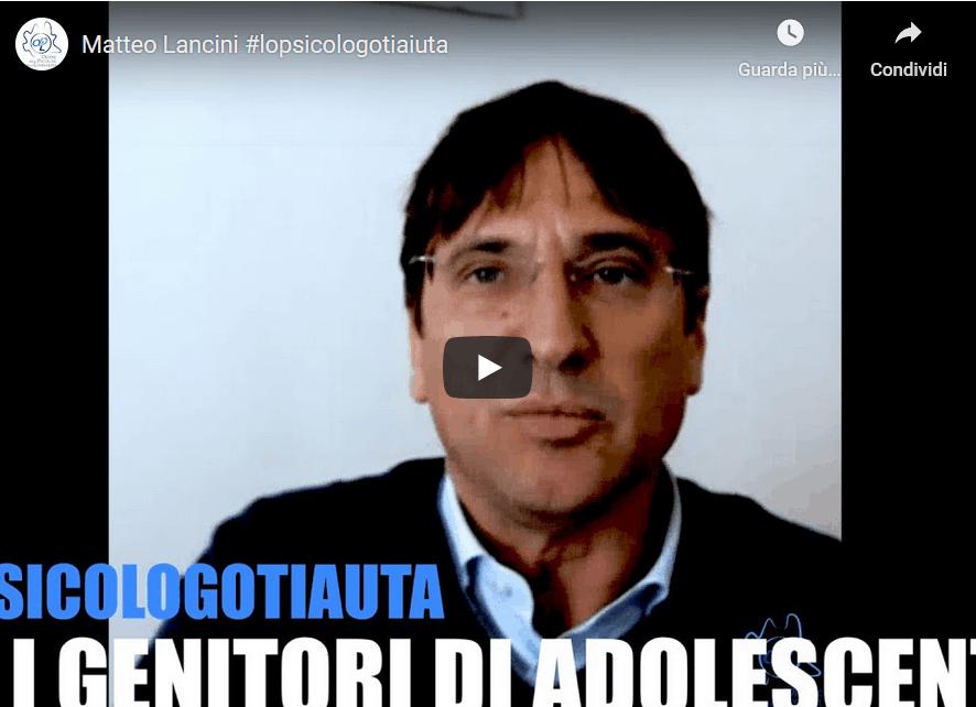 #lopsicologotiaiuta – OPL – Matteo Lancini