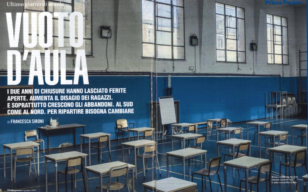 L'Espresso – Vuoto d'aula
